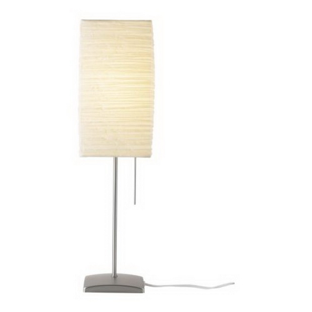 Rice paper table lamp 11