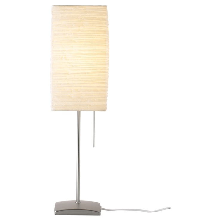 Rice paper table lamp 3