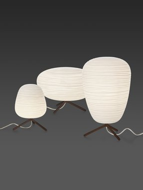 Rice paper table lamp 4