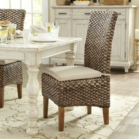 Seagrass dining chairs 10