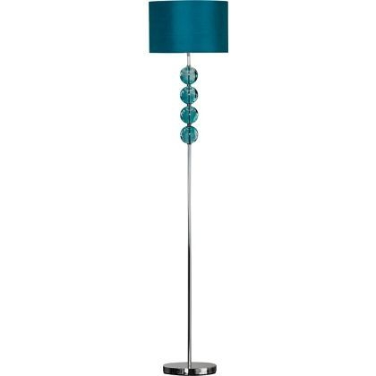 Beautiful Stacked Glass Ball Floor Lamp Design Inspirations
