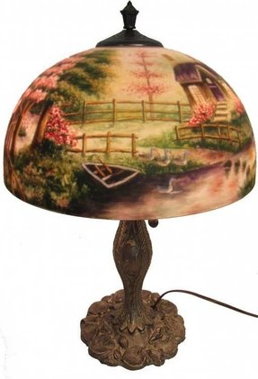 60c4003e7342 Thomas Kinkade Lamps - Ideas on Foter