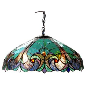 Tiffany Style Ceiling Fan Light Shades Foter