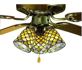 Tiffany style ceiling fan light shades foter tiffany style ceiling fan light shades aloadofball Gallery