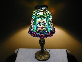 Tiffany Style Night Light Lamp Foter