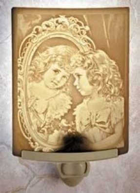 Porcelain Garden Lithophane Lamps Ideas On Foter