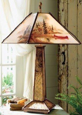 Adirondack lamp shades foter adirondack lamp shades 10 aloadofball Gallery