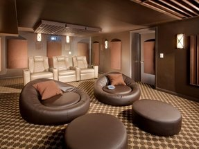 And viewing angle are critical in a home theater the
