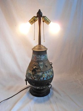 Antique japanese lamps 2