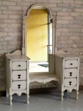 Antique White Bedroom Vanity Ideas On Foter