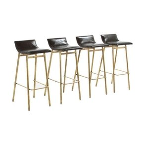 Brass modern bar stool 2