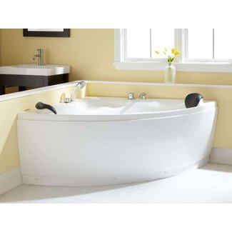Corner freestanding tub 4
