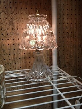Crystal lamps vintage