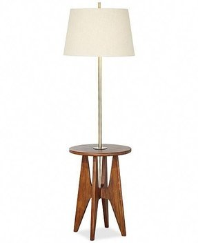 Floor lamp with tray foter floor lamps with table attached aloadofball Choice Image