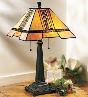 Frank Lloyd Wright Style Lamp 16