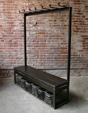 Hallway Coat Rack And Bench Foter