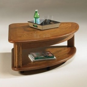 Pie Shaped Lift Top Coffee Table Foter