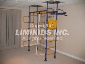 Indoor home gym for kids