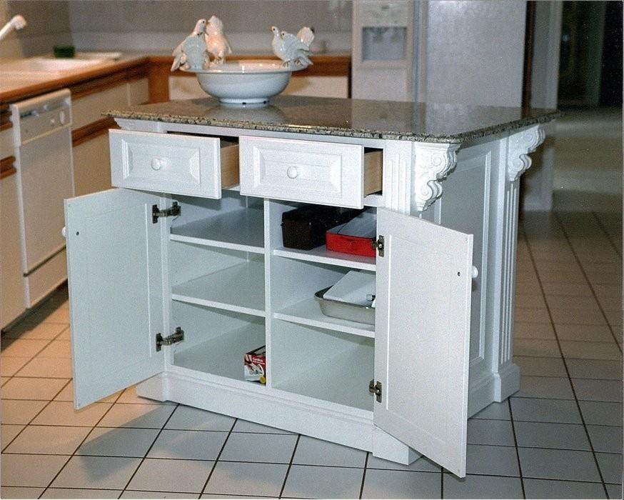 Kitchen Island Casters 1