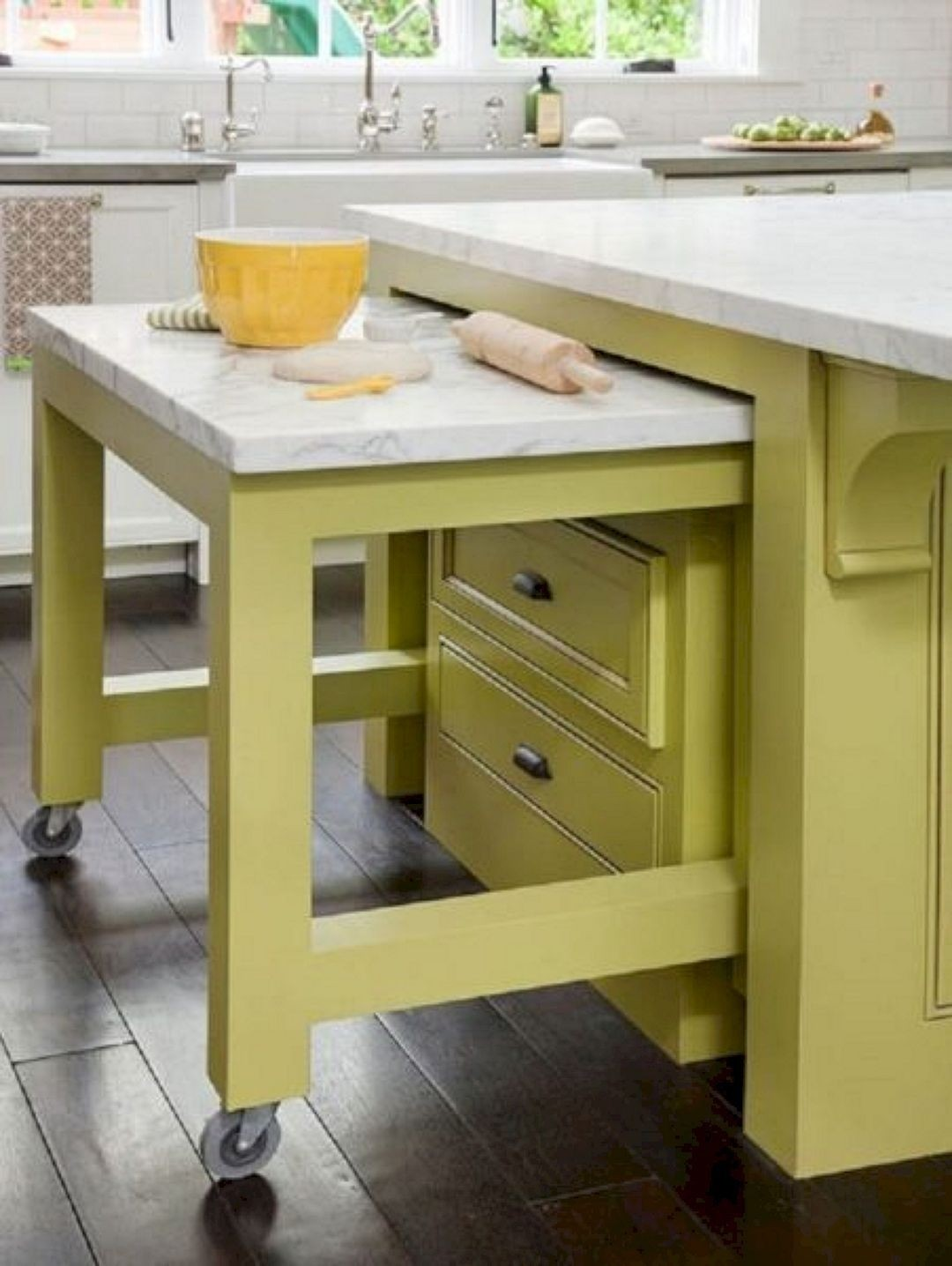 Incroyable Kitchen Island Casters 10