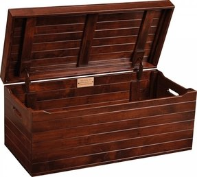 Large wooden toy box 1