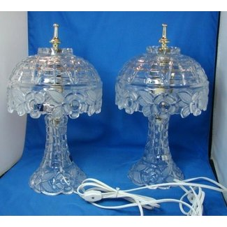 Lead crystal lamp 4