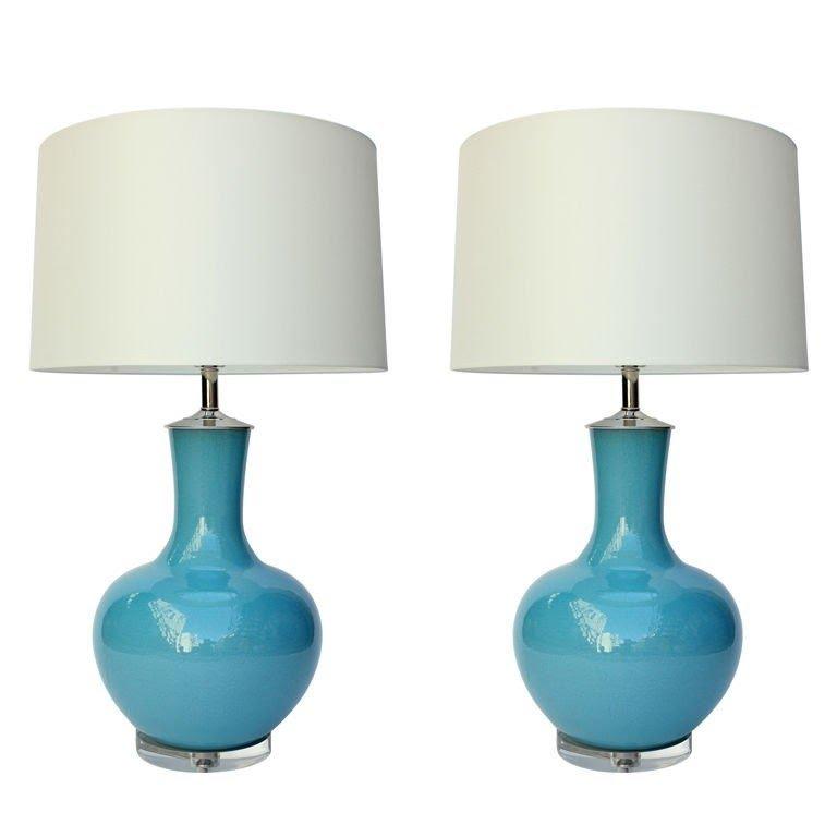 Good Lucite Lamp Base 42