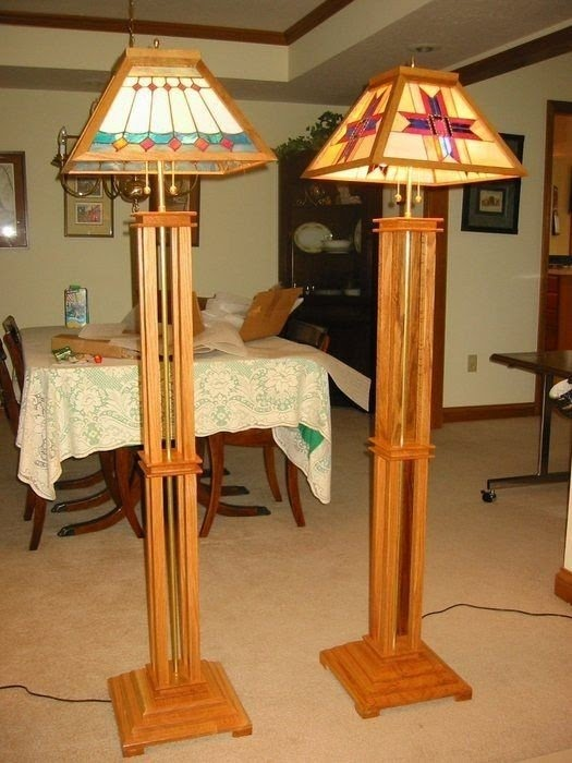Mission Style Floor Lamp 6