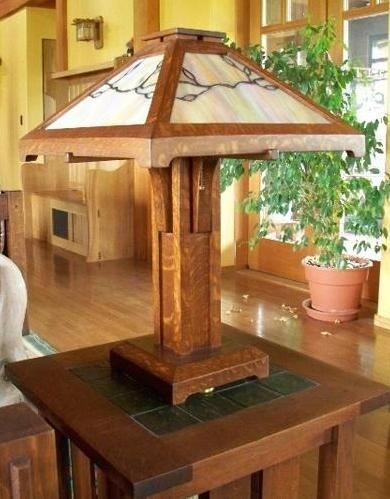 Bon Mission Style Lamp Shades 11