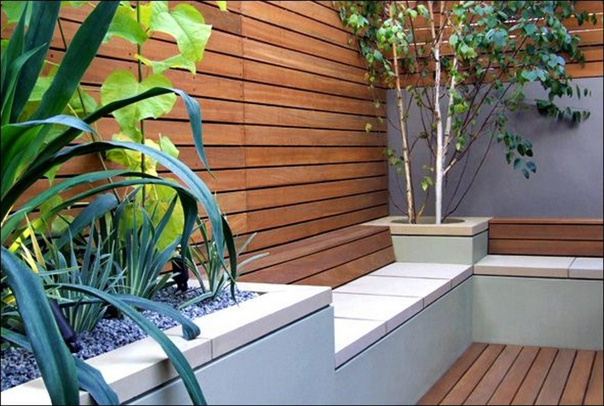 High Quality Modern Patio Bench