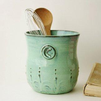 Ceramic Utensil Holder Crock - Ideas on Foter