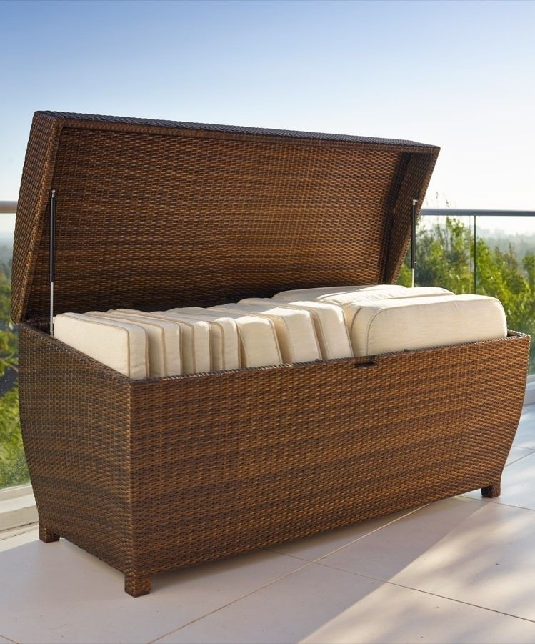Beau Outdoor Furniture Cushion Storage 2