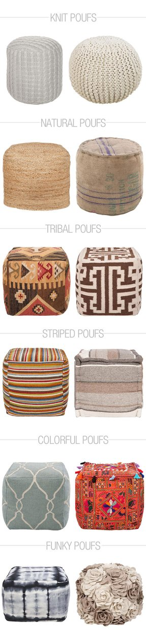 Outdoor ottomans 7