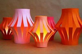 Paper lantern table lamp 8