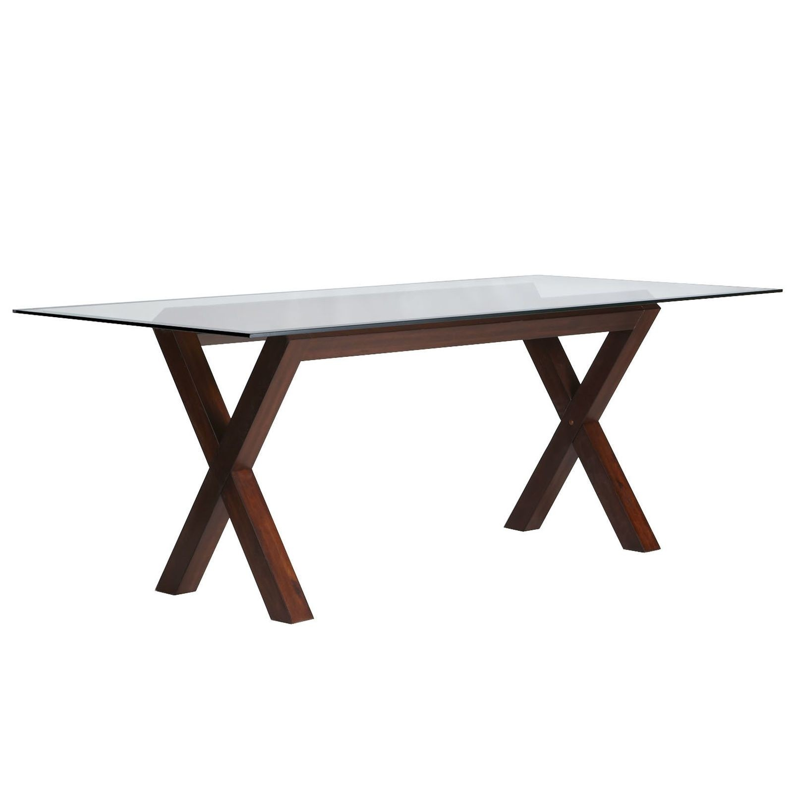 Superb Wood Base Glass Top Dining Table Ideas On Foter Beutiful Home Inspiration Xortanetmahrainfo