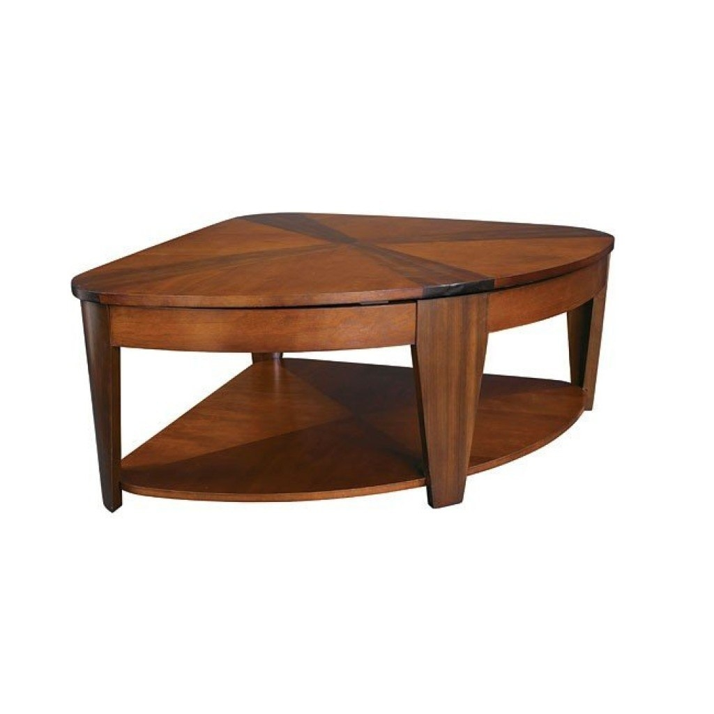 Perfect Pie Shaped Lift Top Coffee Table 4