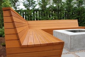 Modern Patio Bench Foter