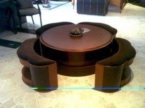 coffee tables with seating underneath foter. Black Bedroom Furniture Sets. Home Design Ideas