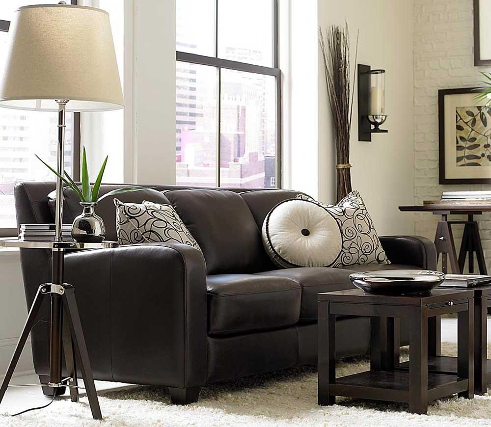 Round Leather Sofa 11