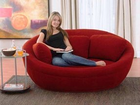 Round Leather Sofa Foter