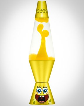 Spongebob lava lamp