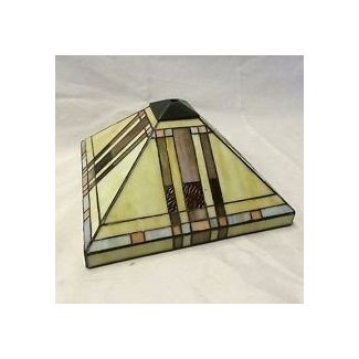 Stained glass lamp shade 1