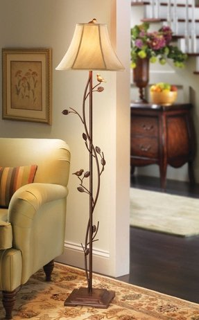 Vine floor lamp foter vine floor lamp 44 aloadofball Choice Image