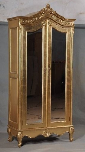 Mirrored Armoire Wardrobe - Foter