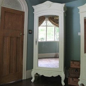 White french armoire wardrobe