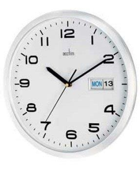Acctim day date wall clock acctim contemporary wall desk clock