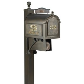 Address numbers for mailbox