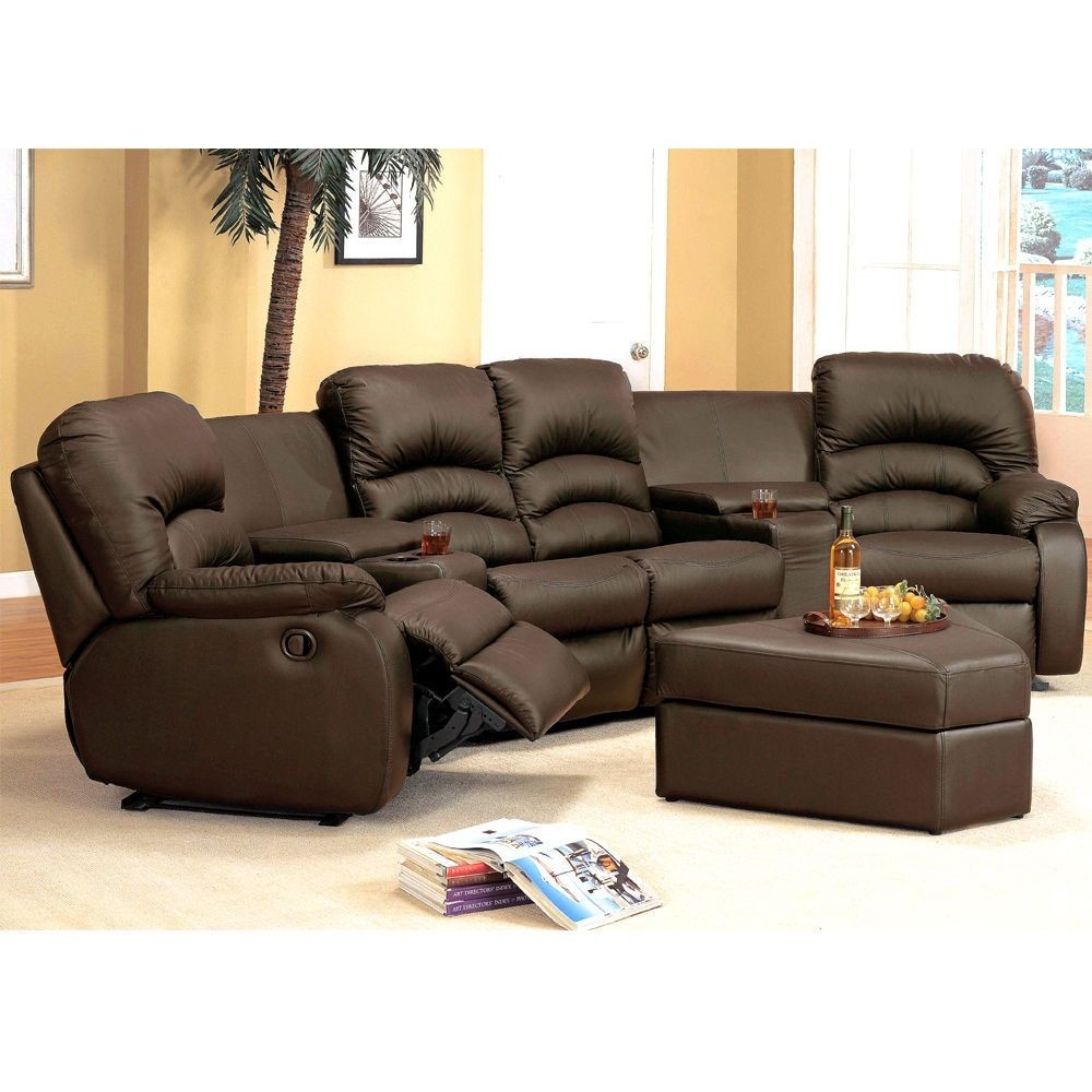 Marvelous Curved Reclining Sofa