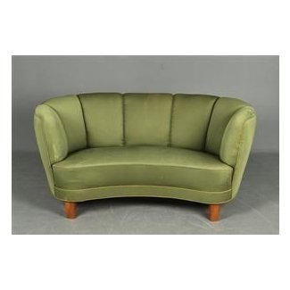 Enjoyable Small Curved Couch Ideas On Foter Ibusinesslaw Wood Chair Design Ideas Ibusinesslaworg