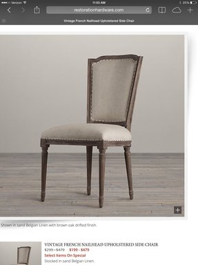 Dining room vintage arm chair 2